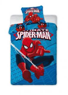 Povlečení Polar Fleece Spiderman 140/200 cm