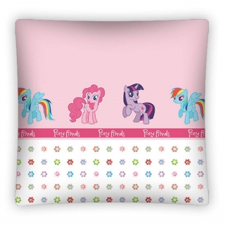 Povlak na polštářek My Little Pony Friends 40/40 cm